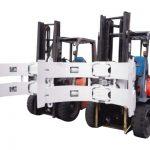 Делови за прицврстување на хартија од хидраулични Forklift 25f што се користат во соочување со гипс картон
